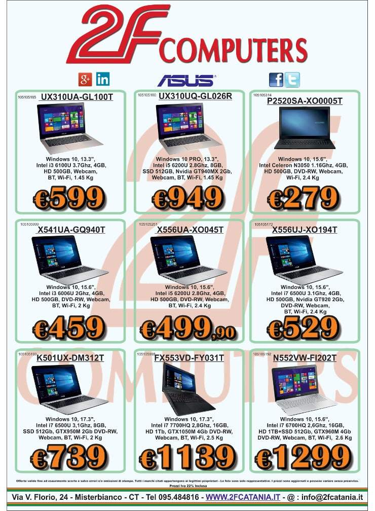 Promo 2F Computers VS Amcomputers