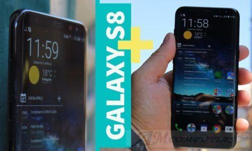 Samsung Galaxy S8 e S8 Plus Recensione ITA