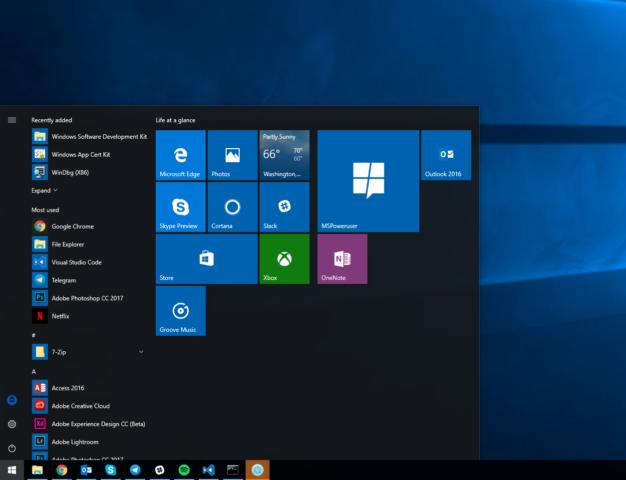 Windows 10 Creators Update Pc e Smartphone a la build di test 15063