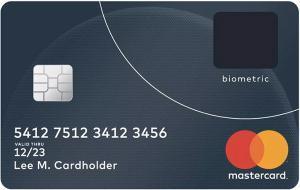 MasterCard le nuove carte di credito con sensore impronte integrato