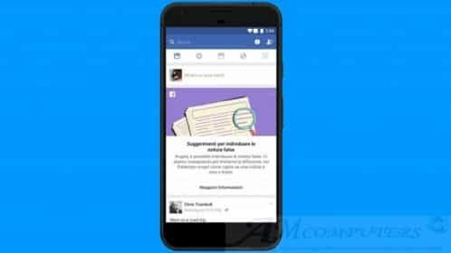 Facebook arriva Lo strumento educativo contro le notizie false