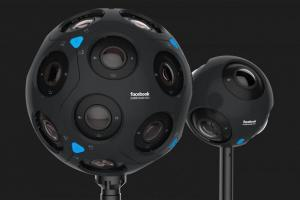Facebook presenta due nuove videocamere a 360
