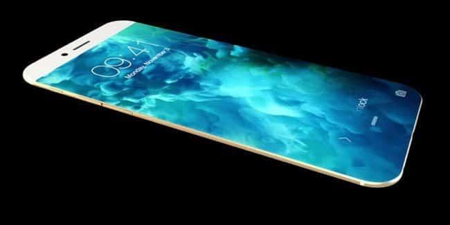 iPhone 8 il sensore di impronte digitali integrato nello schermo