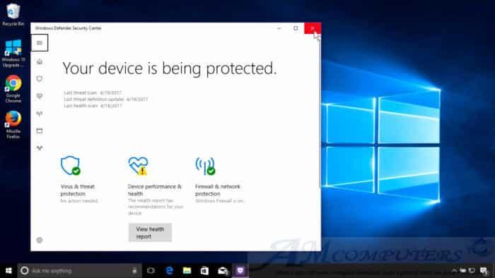Windows Defender il nuovo Antivirus di Microsoft protezione da malware