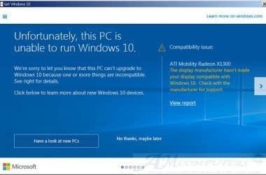 Microsoft non installate ultimo aggiornamento di Windows 10