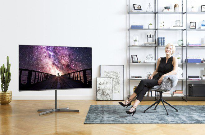 Panasonic mostra i TV Ultra HD HDR EX780