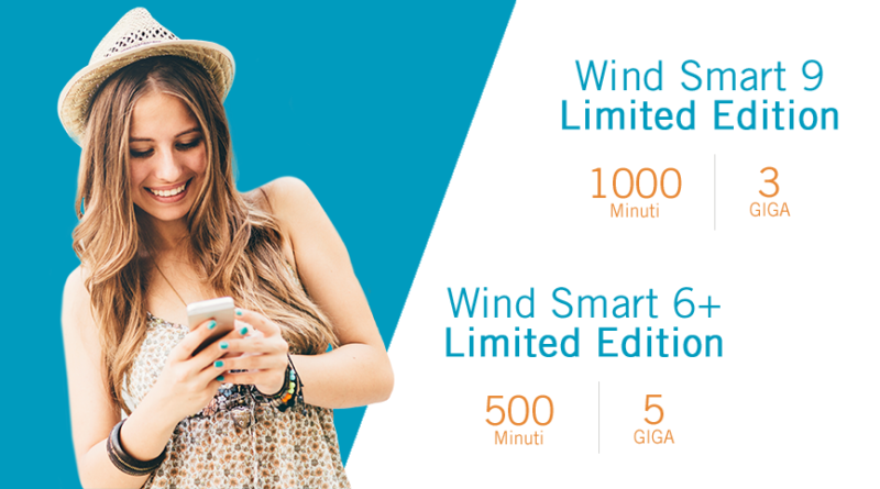 Wind Smart 9 e 6+ Limited Edition