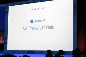 Microsoft annuncia Windows 10 Fall Creator Update