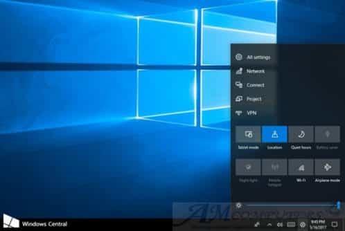 Microsoft mostra il nuovo Control Center su Windows 10