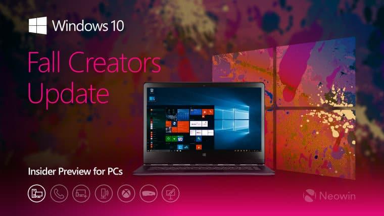 Microsoft Windows 10 build 16226 agli Insider le novità
