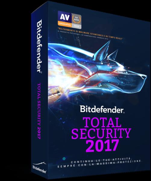 Bitdefender Total Security - Software Anti Malware
