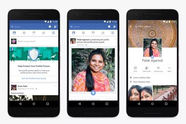 Facebook introduce strumenti per evitare che rubino foto del profilo