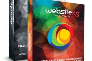 WebSite X5 Professional è il software realizzato per siti web