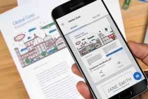 Adobe Scan trasforma documenti di carta in testo digitale