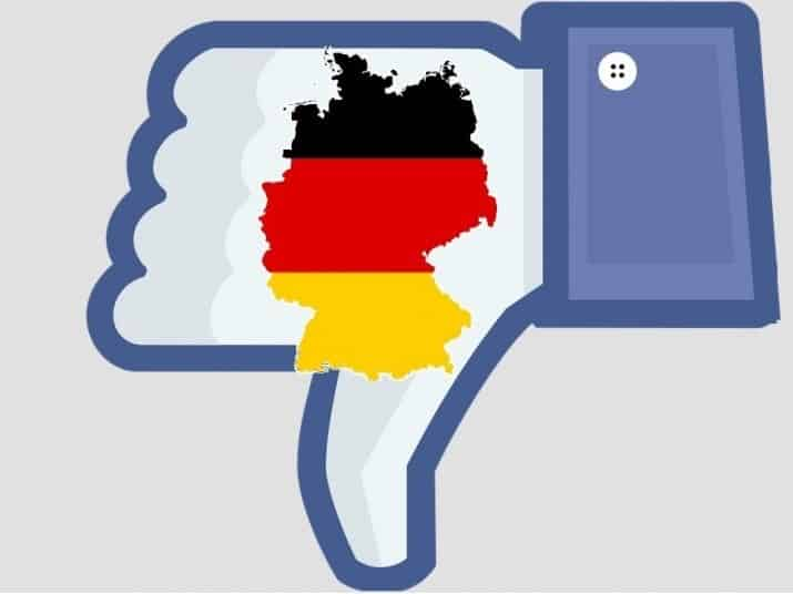 Germania Legge Facebook stop insulti o social multati