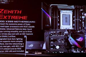 ASUS X399 ROG Zenith Extreme per CPU AMD ThreadRipper