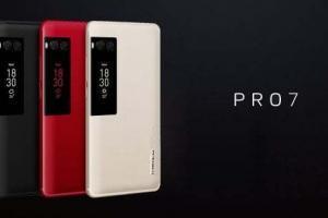 Meizu Pro 7 e Plus con display sul retro