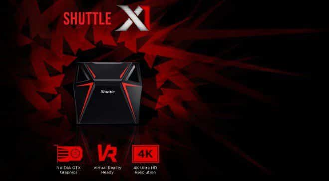Shuttle X1 mini PC Gaming con Kaby Lake GeForce GTX