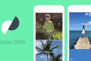 Motion Stills app Google per creare GIF dai video