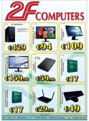 Offerte e promozioni 2F Catania VS Amcomputers