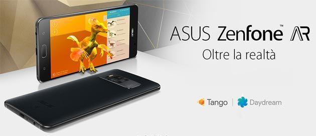 Asus Zenfone Ar Il primo smartphone con Tango e Daydream
