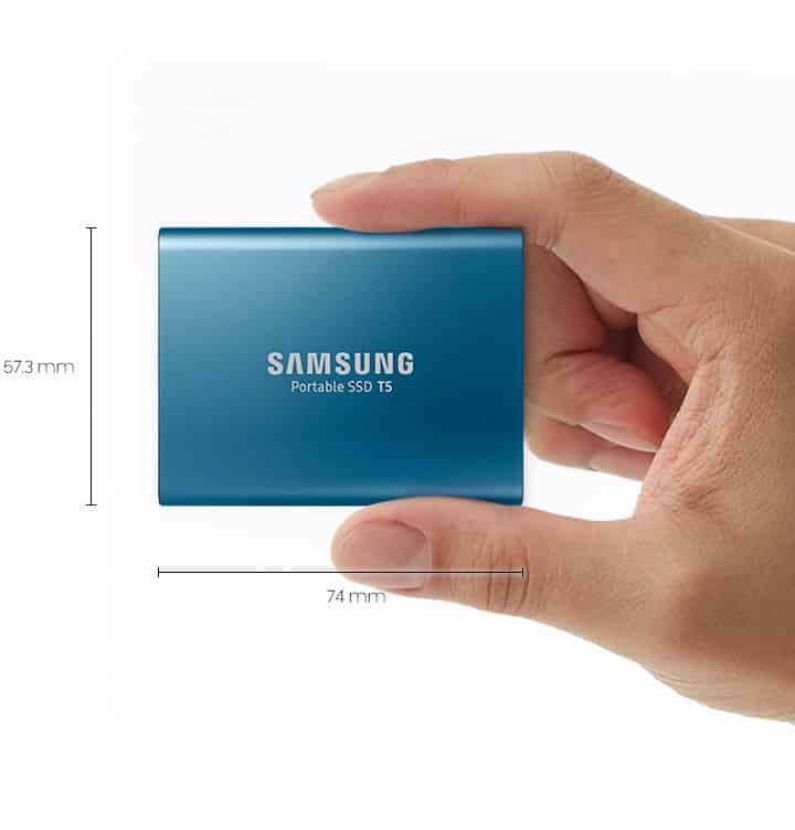 Samsung annuncia Portable SSD T5 fino a 2TB.