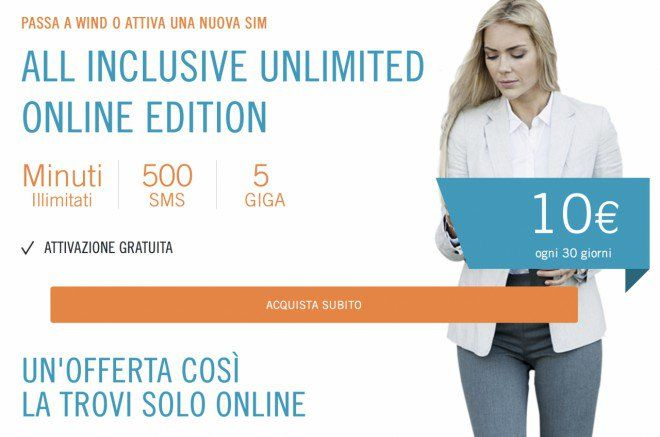 Wind All Inclusive Unlimited Online Edition