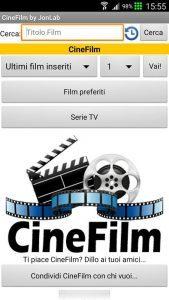 Applicazione per vedere scaricare Film e Serie TV su Android