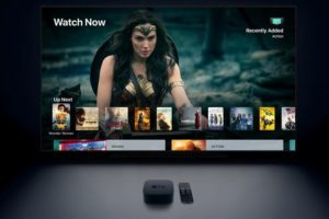 Apple TV 4K HDR box per il cinema a casa