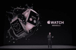 Apple Watch Series 3 ufficiale in rete 4G