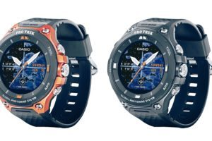 Casio Pro Trek WSD-F20 design e funzioni smart