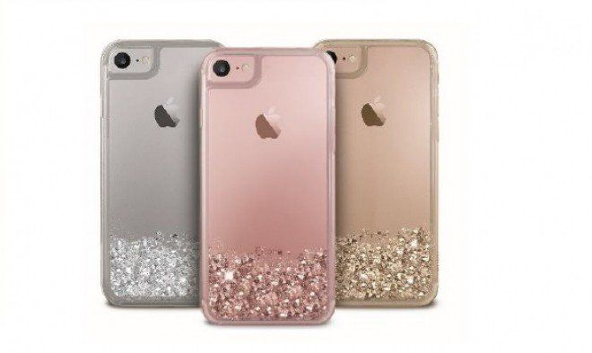 custodia iphone 8 con brillantini