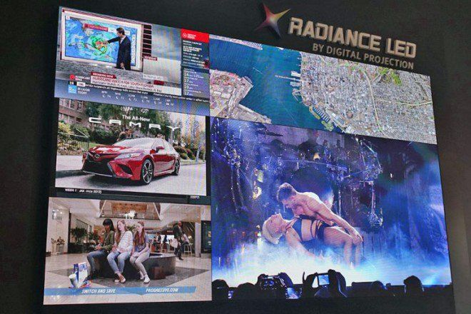 Digital Projection presenta un display MicroLED modulare