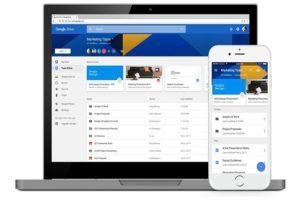 Google Drive File Stream che sostituisce Google Drive