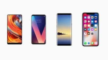 IPhone X Note 8 LG V30 Mi MIX2 a confronto