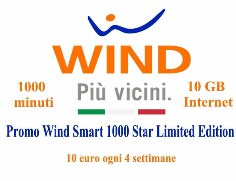 Promo Wind Smart 1000 Star Limited Edition