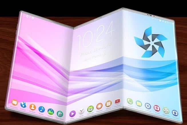 Samsung Galaxy X IL 2018 Anno degli Smartphone pieghevoli