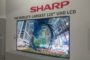 Sharp presenta a IFA il TV 8k Ultra HD