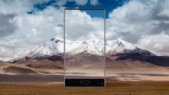 Ulefone MIX lo smartphone full display