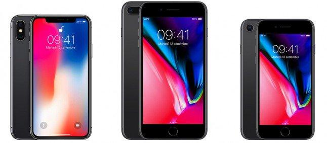 iPhone X 8 e 8 Plus scopriamo le differenze