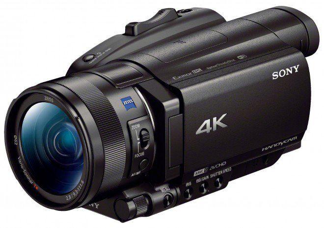 Sony annuncia tre videocamere Ultra HD con HDR e AF
