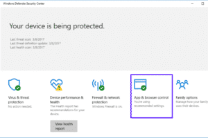 Illusion Gap bypassa Windows Defender security center