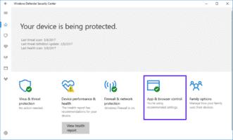 Illusion Gap bypassa Windows Defender security center
