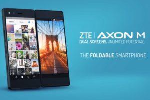 Axon M lo smartphone pieghevole ma non flessibile
