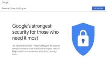 Google Advanced Protection Program metti in sicurezza il proprio account