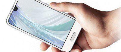 Sharp Aquos R Compact un Essential Phone dimagrito
