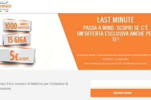 Wind Smart 5 Star 5 euro 1000 minuti e 15GB