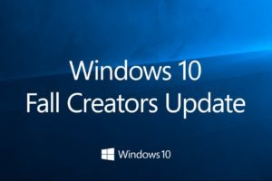 Windows 10 1709 Fall Creators Update disponibile