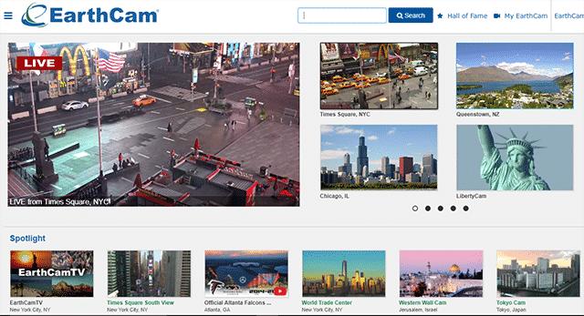 Le migliori webcam live al mondo sul traffico e località