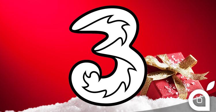 Offerta natalizia di Tre parte lunedì 20 novembre